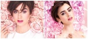 Розовая весна с Lancome и Лили Коллинз