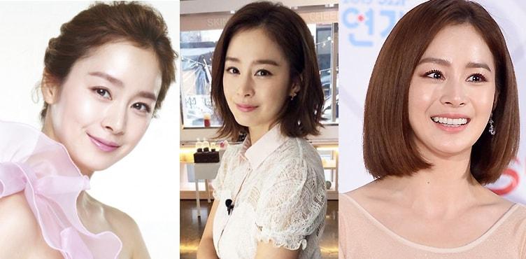 южнокорейская актриса Ким Тхэ-хи