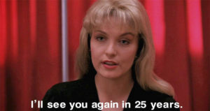 Твин Пикс 25 лет спустя