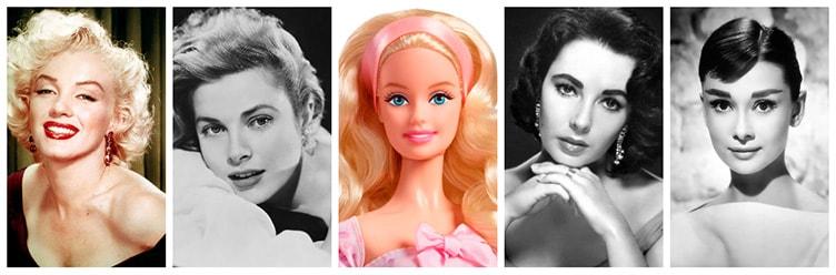Barbie голливудские образы