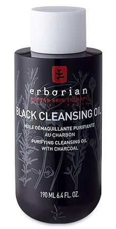 Очищающее черное масло