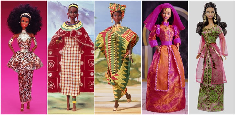 Африка в Dolls of the World