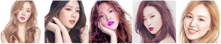 Red Velvet и косметика The Saem