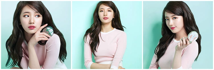 TWICE и Suzy + The Face Shop