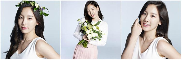Nature Republic и Taeyeon и Banila Co