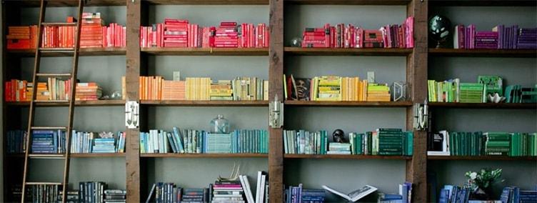 Книги по цвету