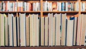 Книги корешком к стене