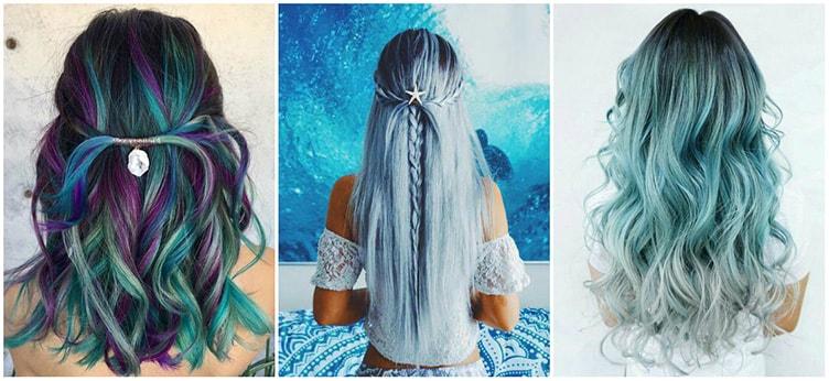 Тренд на цветные волосы