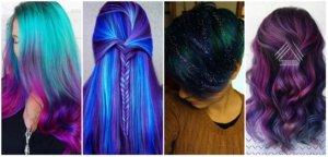 Космические волосы или Galaxy hair