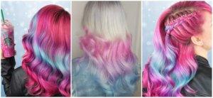 Волосы единорога или Unicorn Frappuccino hair