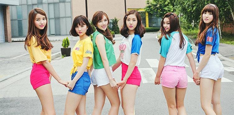 k-pop группа GFriend