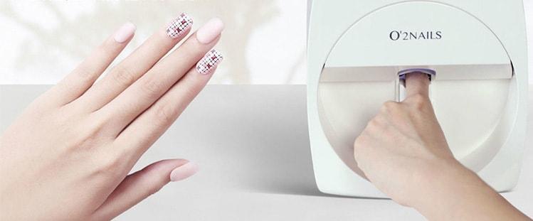 Машина для окрашивания ногтей