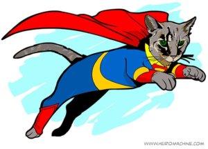 Кот спасает мир
