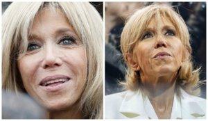 Тушь первой леди Франции