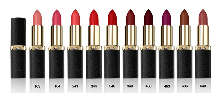 Матовые помады LÓreal Paris Color Riche Matte Addiction