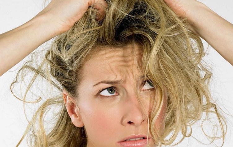 редкое мытье волос