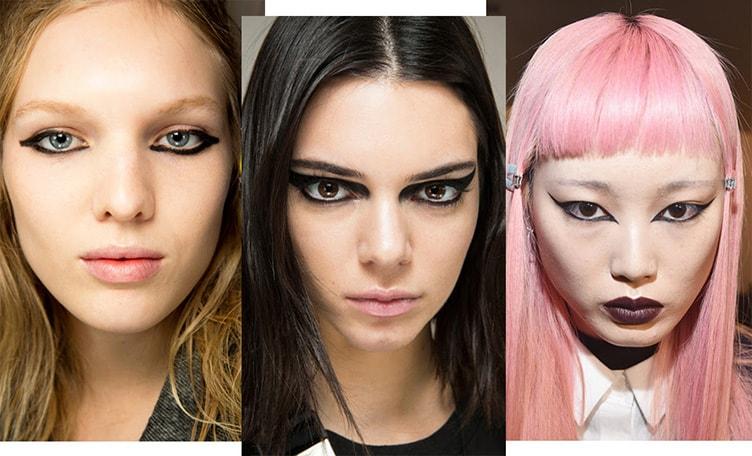 Грандж макияж 2018