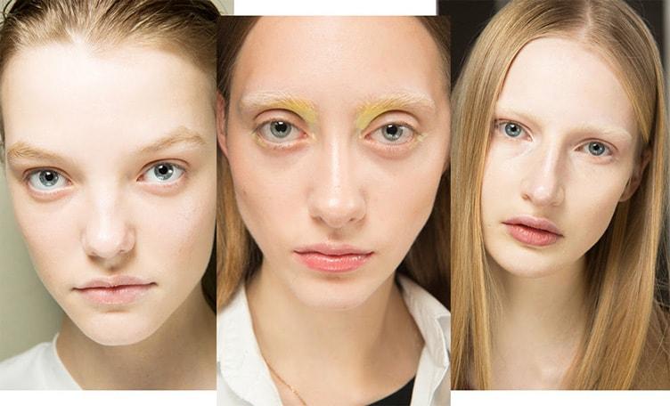 Широкие брови тренд в макияже 2018