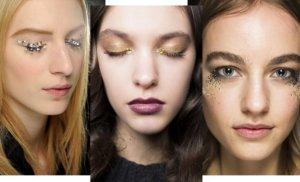 Блестки и глиттер в 2018 макияж