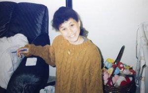 Меган Маркл в детстве