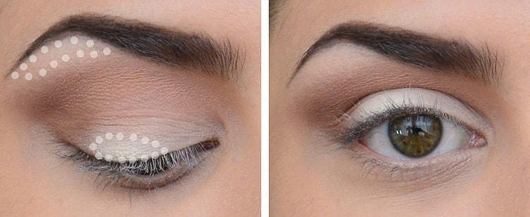макияж глаз нависшее веко