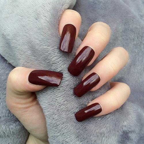 Тонкие пальцы форма ногтей