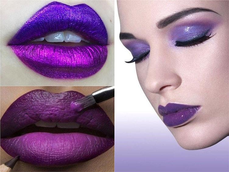 Цвет макияжа 2018