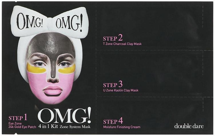 Зональная маска для лица Double Dare OMG