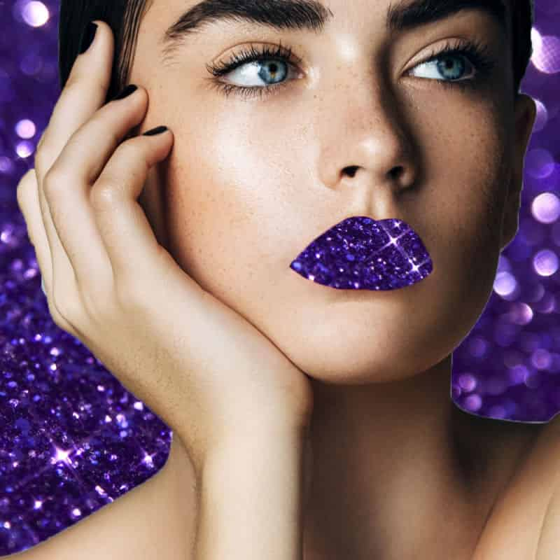 Фиолетовые тона в макияже